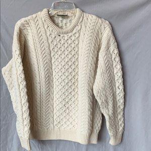 Irish wool sweater!